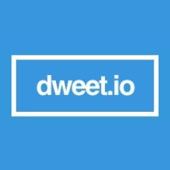 Https twitter.com dweet io profile image